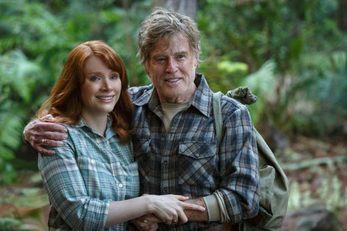 Bryce Dallas Howard is Grace and Robert Redford is Mr. Meacham