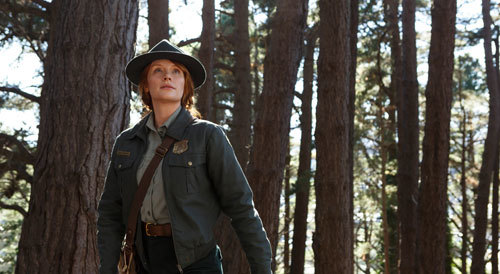 Grace (Bryce) in her forest ranger outfit