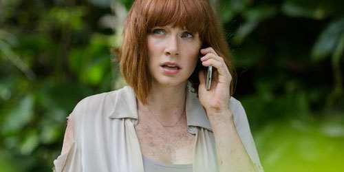 Bryce as Claire in Jurassic World