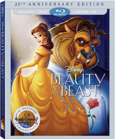 Beauty and the Beast 25th Anniversary Edition Blu-ray