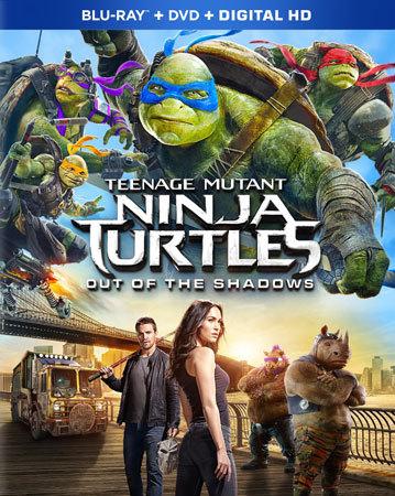 Teenage Mutant Ninja Turtles: Out of the Shadows Blu-ray