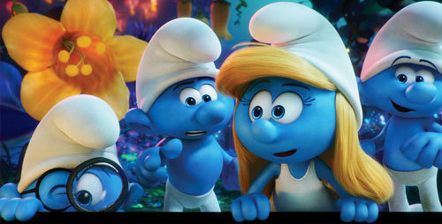 Brainy, Hefty, Smurfette and Clumsy embark on an exciting and thrilling race through the Forbidden Forest