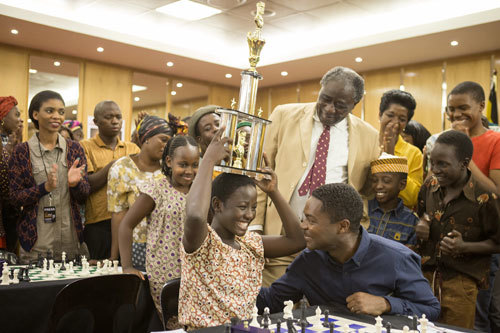 Fiona (Madina) wins her first chess trophy