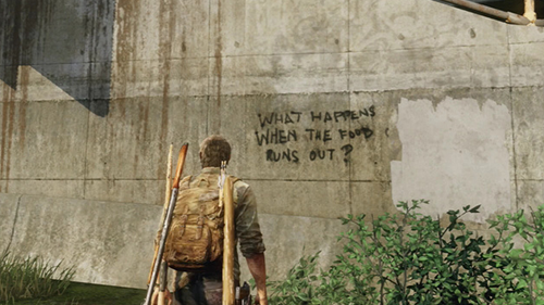 Games may use graffiti as set dressing but it's often extremely overused.