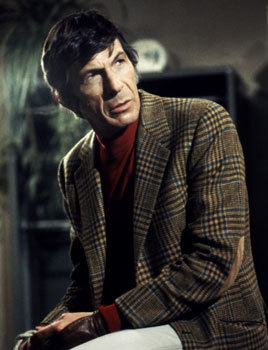 Leonard Nimoy in 1970's Invasion of the Body Snatchers