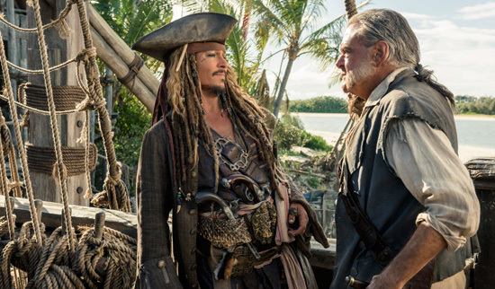Captain Jack and First Mate Gibbs