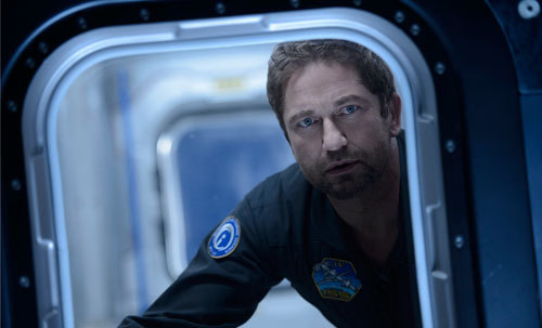 Jake (Gerard Butler) knows he has to go outside the space station