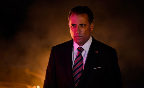 Is President Palma (Andy Garcia) behind the malfunctions?