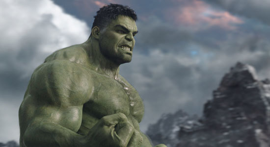 Hulk is ready for battle