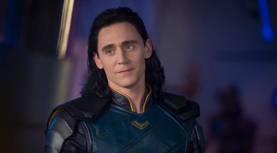 Loki (Tom Hiddleston) in one of his better moods