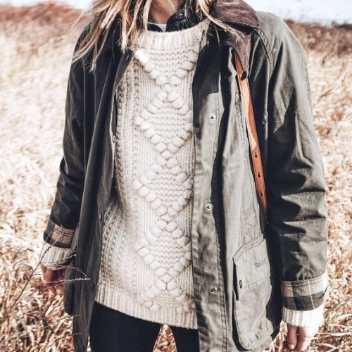 As weather gets colder, pile on the heavier layers
