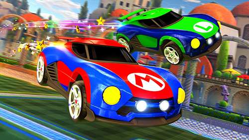 Mario and Luigi get their own battle cars on the Switch.
