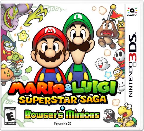 Mario and Luigi: Superstar Saga 3DS Game