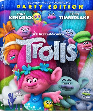 Trolls Blu-ray