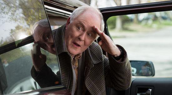John Lithgow (Pop Pop) arrives