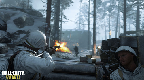 The maps in the new Call of Duty are well designed but the gameplay is maybe too simple.