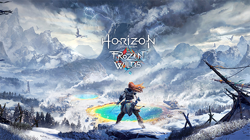 Horizon Zero Dawn Cover Art
