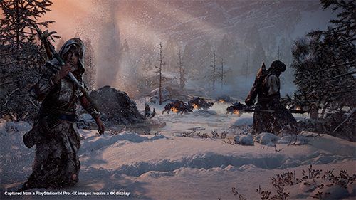 The snowy visuals of Horizon Zero Dawn have nothing on the DLC's world.