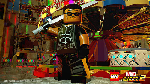 Blade makes a cameo in the LEGO Marvel universe.