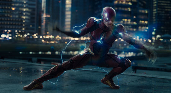 The Flash whips up an electric storm