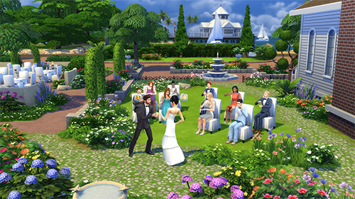 The game's social events feel more diverse than any other entry in the series.