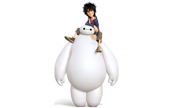 Hiro and buddy Baymax are back together
