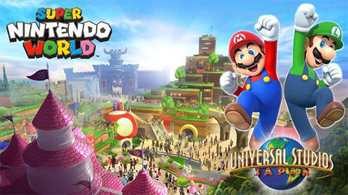 Super Nintendo World is coming to Universal Studios Japan!