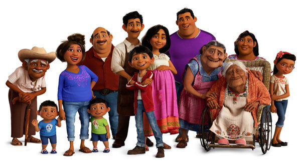 Miguel and his living family