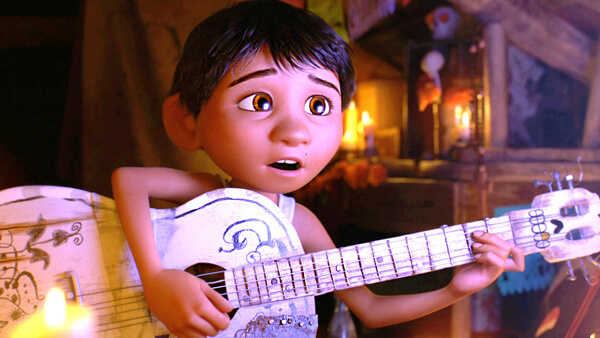 Little Miguel is dying to be a singer