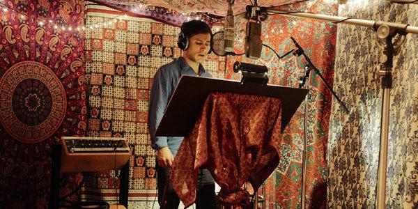 Gael Garcia Bernal records the voice of Hector