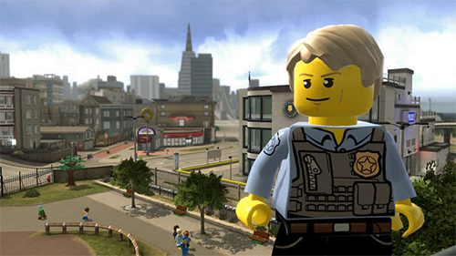 LEGO CITY's hero, Chase McCain!