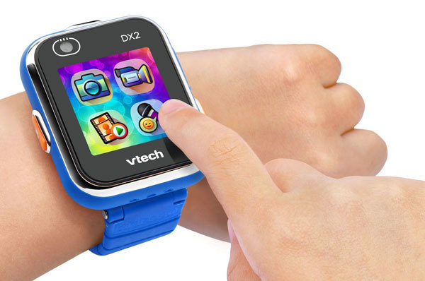 Kidizoom Smartwatch DX2 allows you to tell time and play games at once!