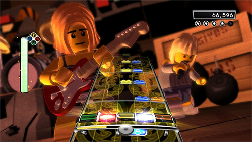 The days of LEGO Rock Band feel so long ago.