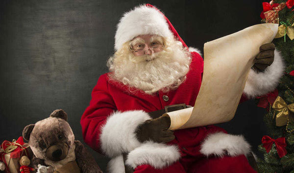 Santa checking the list!