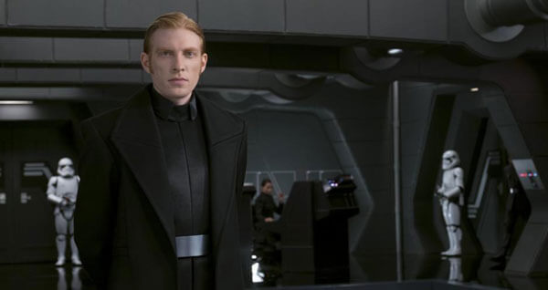 General Hux loves being in power
