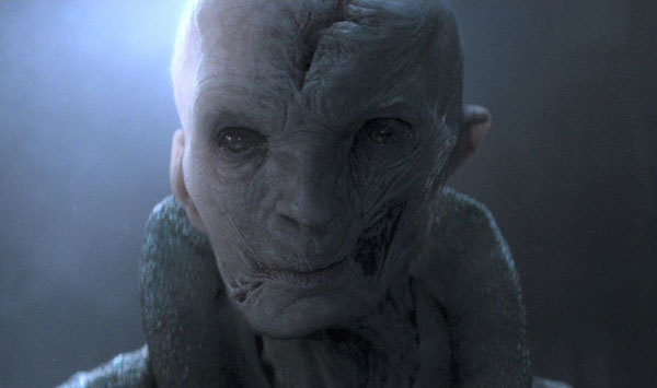Hideous First Order leader Snoke