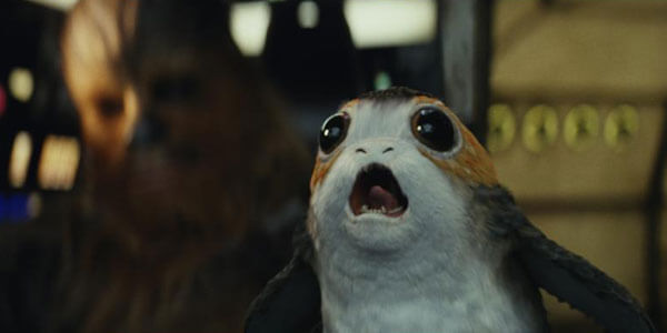 A tiny Porg creature joins the Rebels
