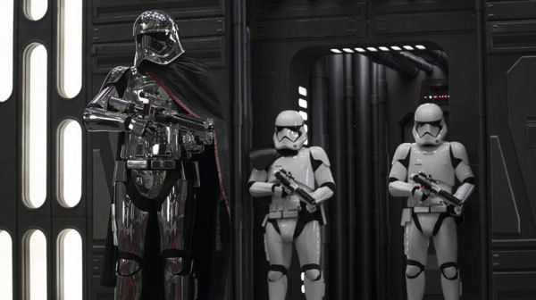 Phasma and her troopers