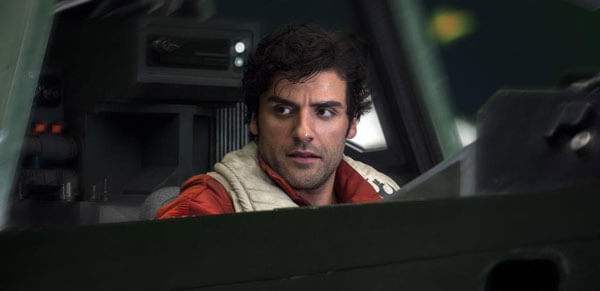 Rebel pilot Poe has a plan of his own