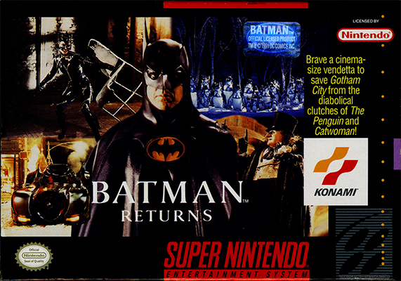 That classic box art of the Super Nintendo years.
