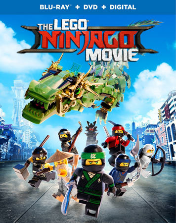 The LEGO Ninjago Blu-ray Cover