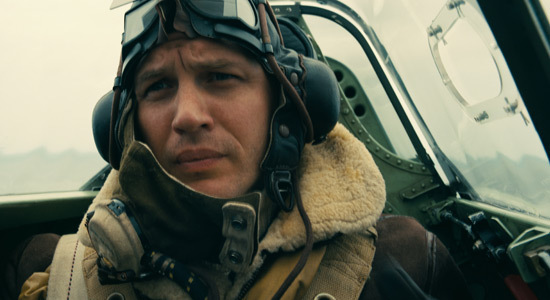 Tom Hardy as pilot Farrier