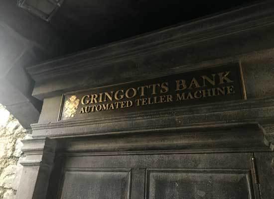Wizarding ATM