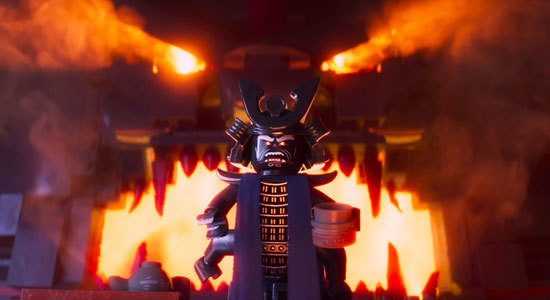 Garmadon in full attack mode