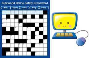 Online Safety Crossword Puzzle