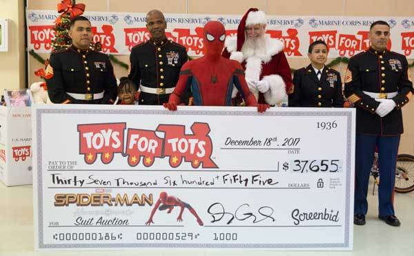 $37K donated for Toys for Tots Program