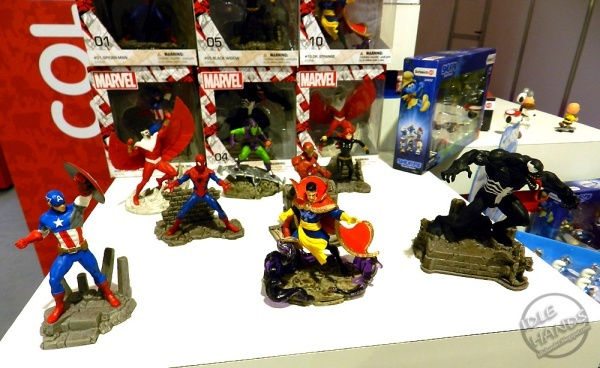 Marvel superhero figurines from Schleich