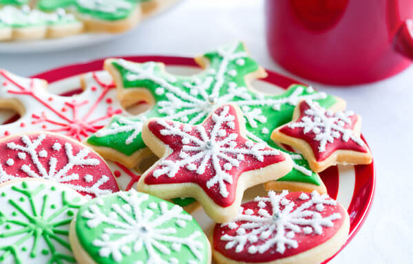 Christmas baking is both fun and delicious.