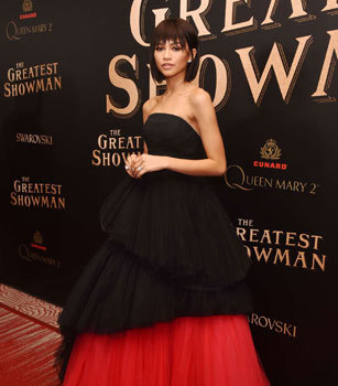 Zendaya at the premiere
