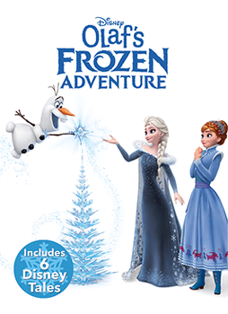 Olaf's Frozen Adventure Cover